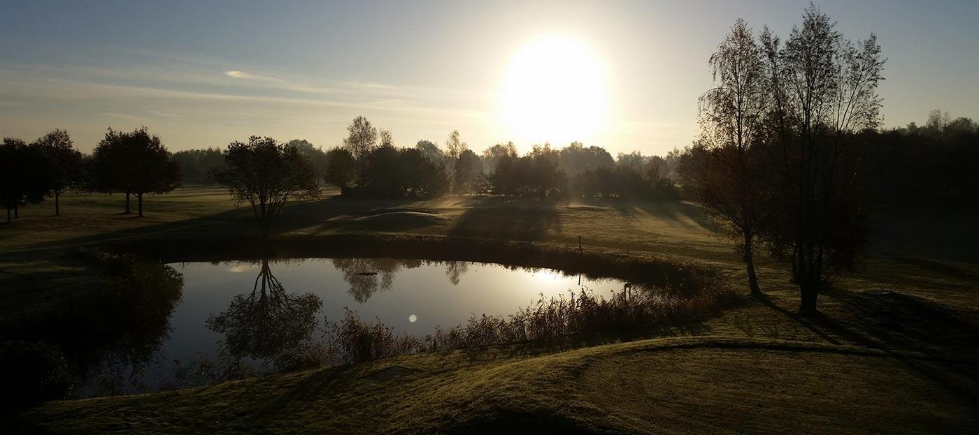 zonsondergang golfbaan best